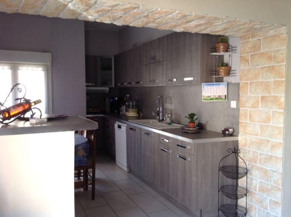 Maison F5 de 100m2 habitables avec garage et balcon