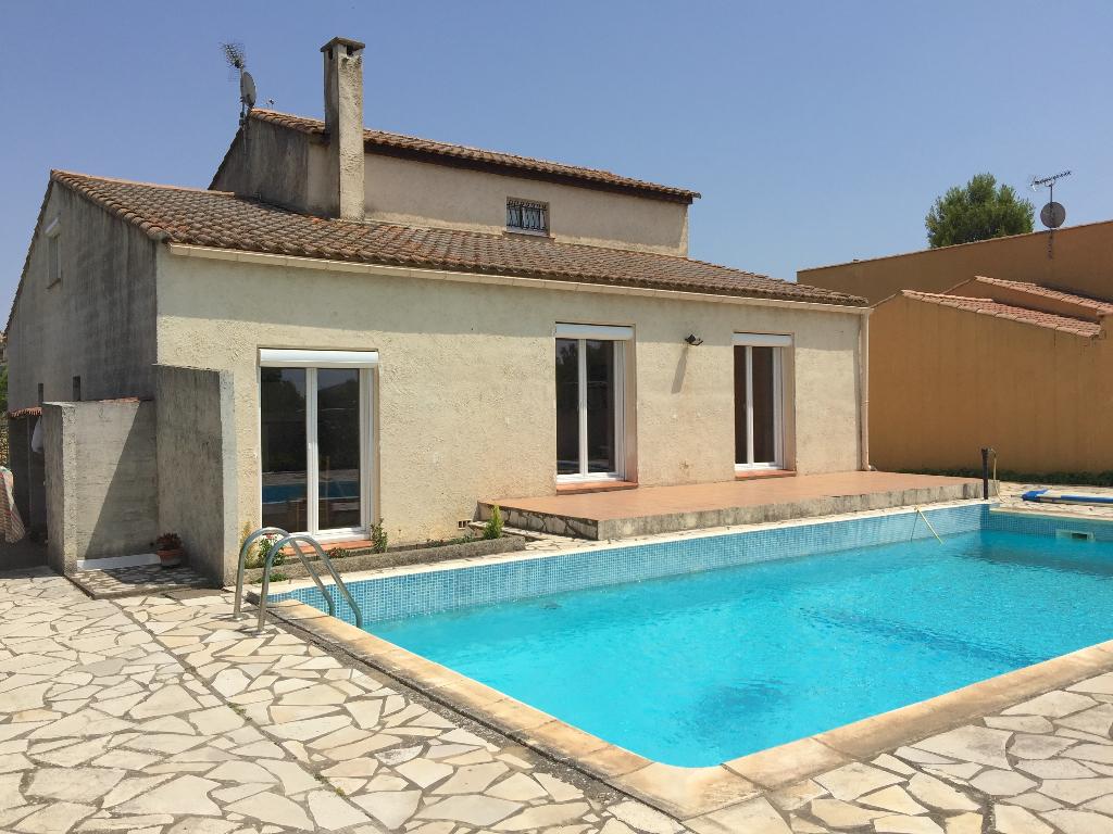 Villa Thezan Les Beziers 5 pièce(s) 130 m2