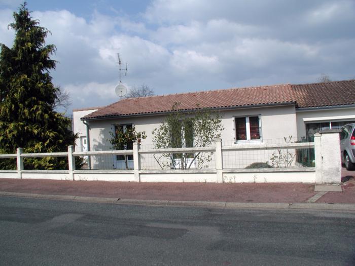 Pavillon plain pied T3 avec jardin