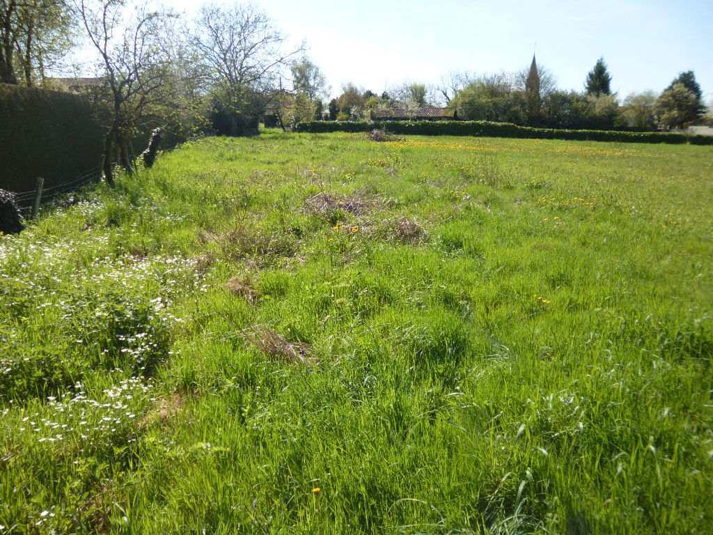 Terrain constructible centre-bourg