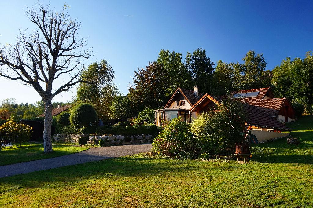 Belle villa sur 2450 m² de terrain paysagé secteur Aiguebelette (20 min de CHAMBERY)