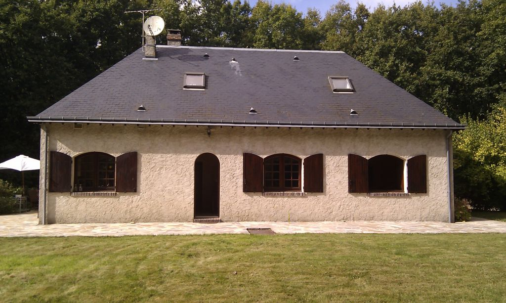 Belle maison de maçon