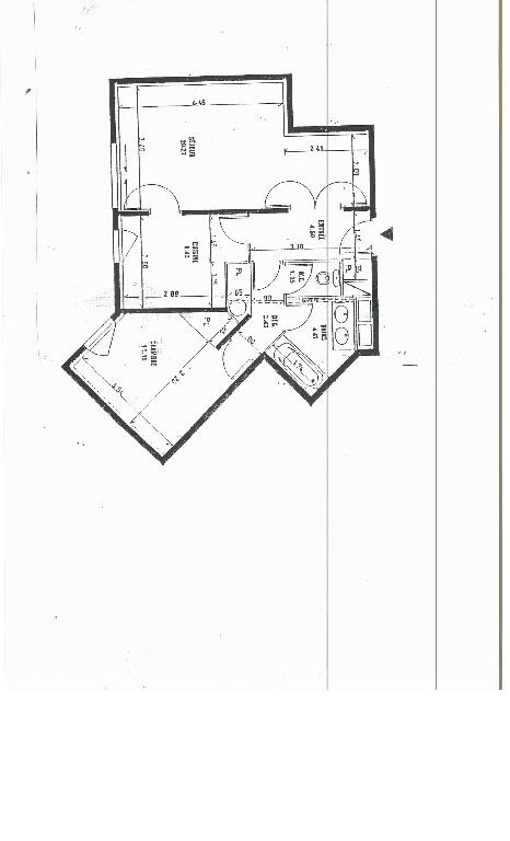 Appartement Chatillon 2 pièce(s) 56 m2