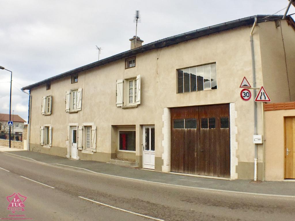 SAINT MARTIN LESTRA - Maison avec terrain et grand garage