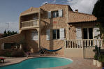 Villa 6 pièces de 115 m2 habitable + garage de 36 m2 + atelier ;  piscine  sur terrain de  500 m2