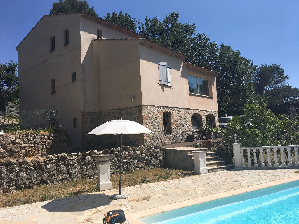 Roqueforts les pins À louer vide à l'année villa avec piscine