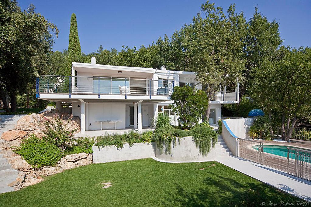 Magagnosc villa d'architecte avec vue mer panoramique piscine