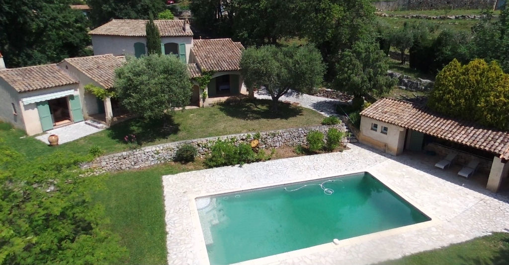 CHATEAUNEUF PROPERTY TWO VILLAS SWIMMING POOL 5500 M2 GROUNDS POOL