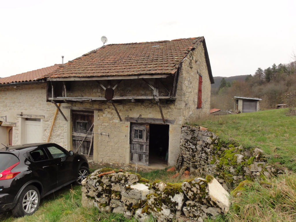 Grange Saint Rambert En Bugey 1 pièce 40 m2 Terrain 181m²