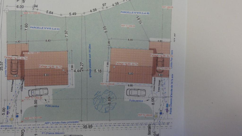 15 min BOURG en B. MAISON 96 m² GARAGE TERRAIN 500 m²