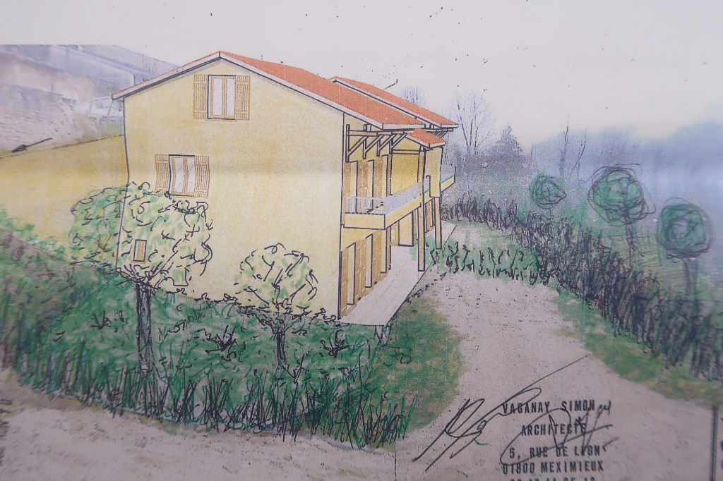 Terrain 1121 m²  + PC pour 2 Villas. sur Amberieu-en-Bugey