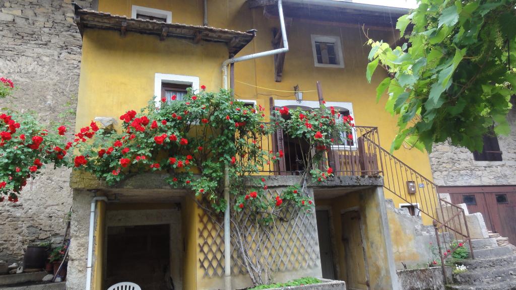 Villebois Maison 4 pièces 60 m2 caves, greniers, terrasse.