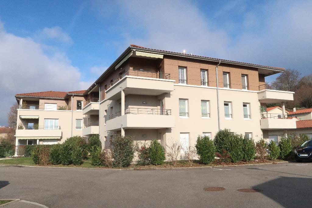 LAGNIEU - Appartement T2 de 52 m² avec jardin et terrasse
