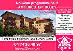 AMBERIEU EN BUGEY CENTRE - Appt T4 Duplex neuf de 104 m2 avec balcon et terrasse