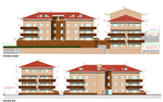 AMBERIEU EN BUGEY CENTRE - Appt T2 de 58 m2 avec terrasse, garage et parking.