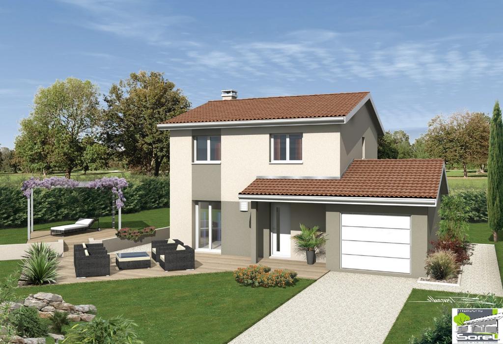 LAGNIEU - Villa T4 de 79 m²