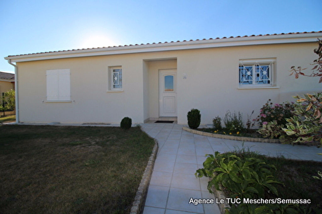 Vente Maison Meschers Sur Gironde