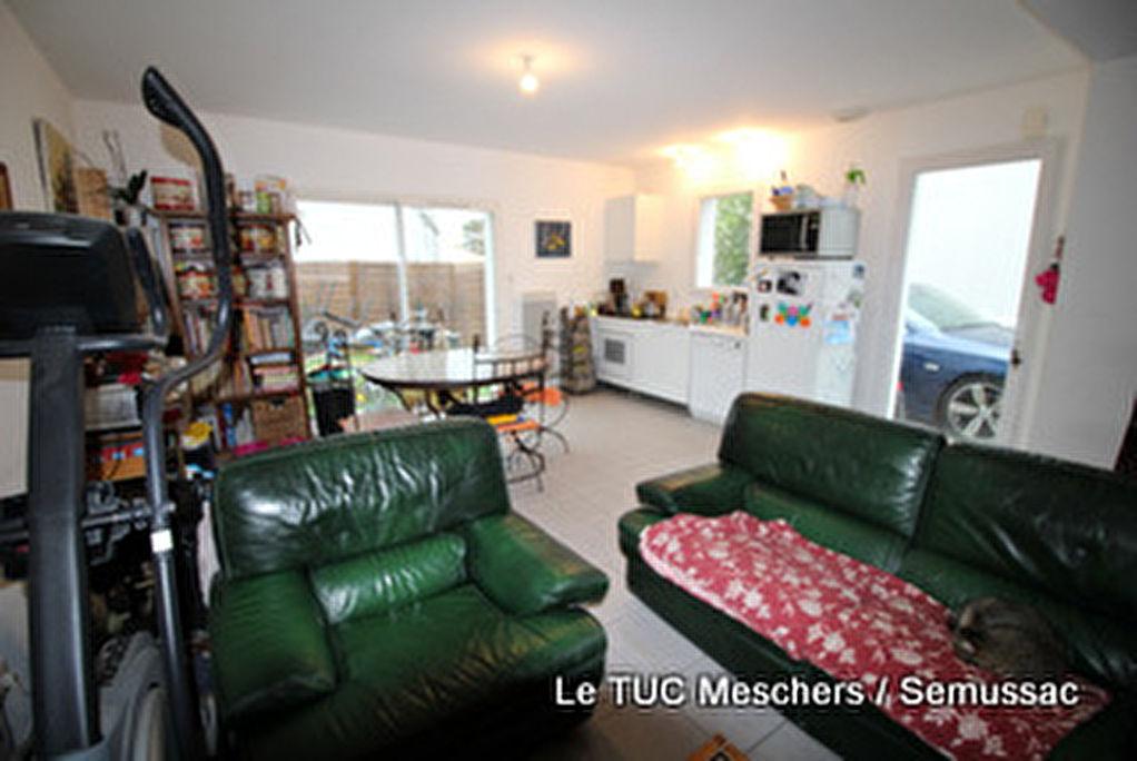 vente maison Meschers 3 pièce(s) 67 m²