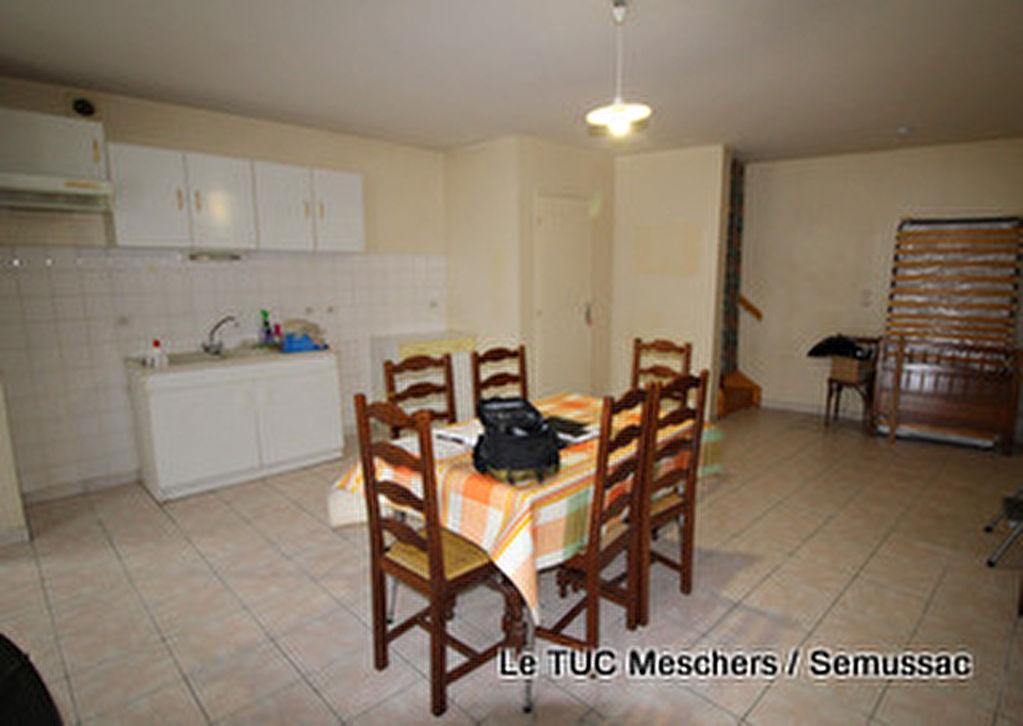 Vente Maison 80 m² environ de ville Semussac