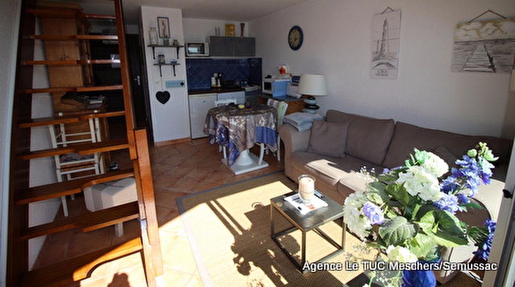 Meschers Appartement  duplex 2 pièce(s) 28.30 m2
