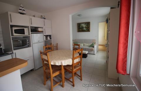 Meschers appartement  3 pièces.