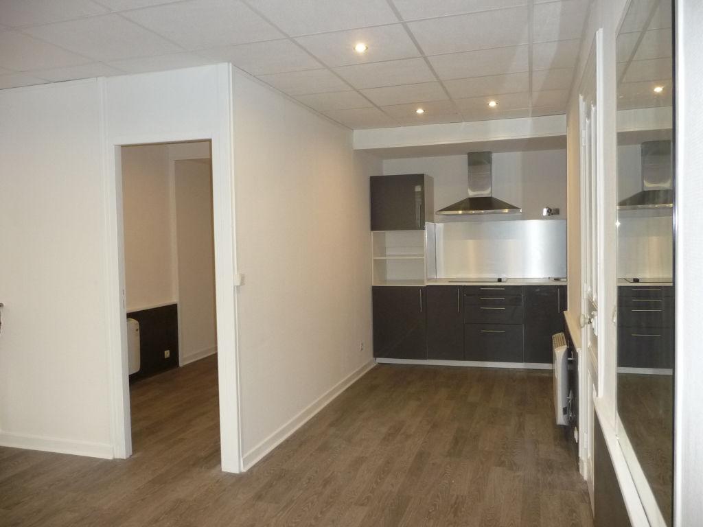 Appartement 50 m²  rez de chaussée centre ville
