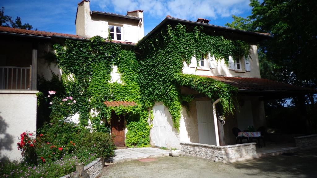 15 MN SAINT ETIENNE, RARE, propriété sur 7 245 m²
