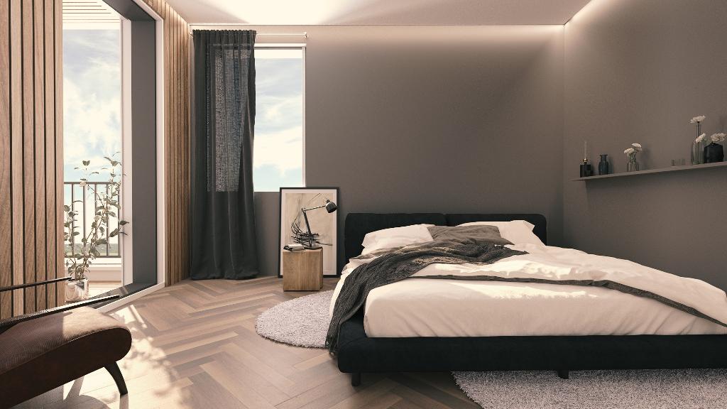 MONTBRISON tout à pied appartement en rez de chaussée de 71.93 m² jardin 105 m²