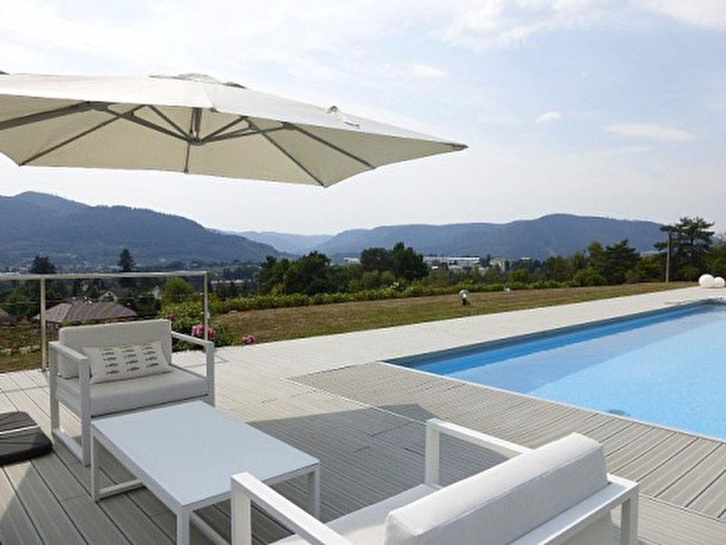 Villa  d'architecte  avec piscine 8 pièce(s) vue exceptionnelle