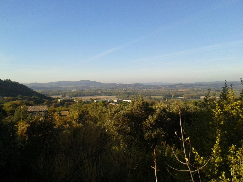 Terrain viablisé sur les hauteurs de Mondragon