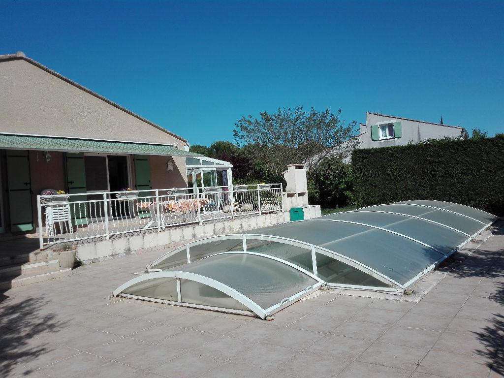Maison de plain pied avec piscine St Martin d'Ardèche