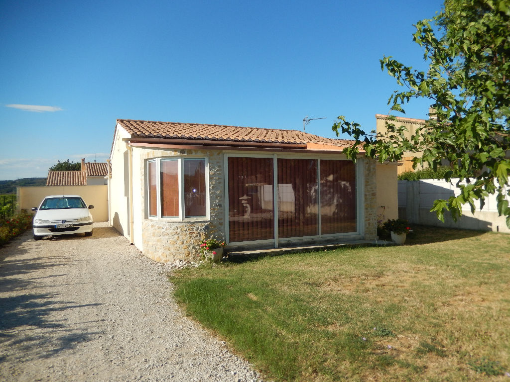 Maison T3 de 50m² environ avec jardin