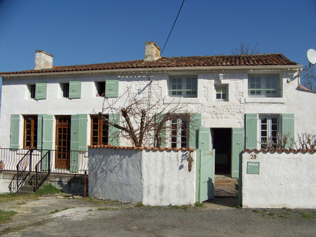 Maison charentaise proche de Saintes  (17)