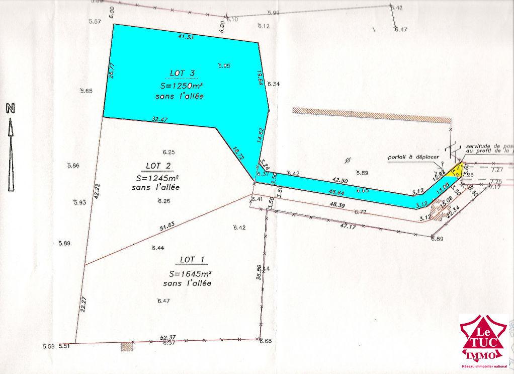 EYRANS Terrain  à bâtir de 1 200 m2