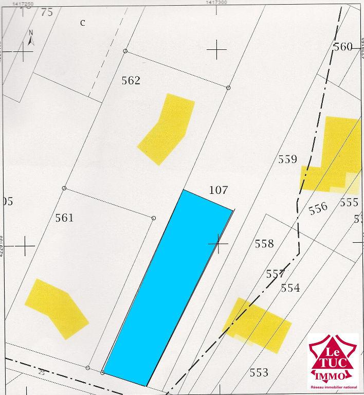 EYRANS Terrain à bâtir d'environ 600 m²