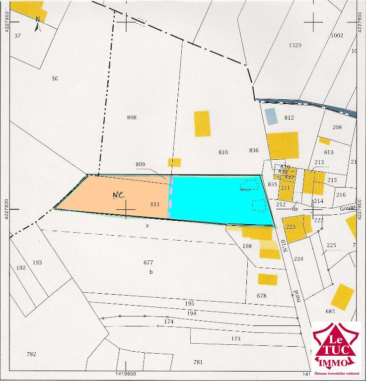 CARTELEGUE terrain à bâtir de 2 480 m²