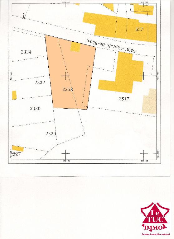 BRAUD ET SAINT LOUIS Terrain à bâtir d'environ 1 000 m²