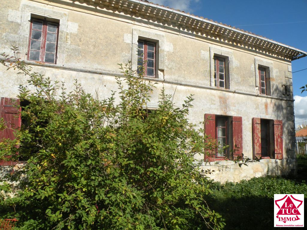 Girondine en pierres 120 m² sur environ 6 400 m²  à Reignac