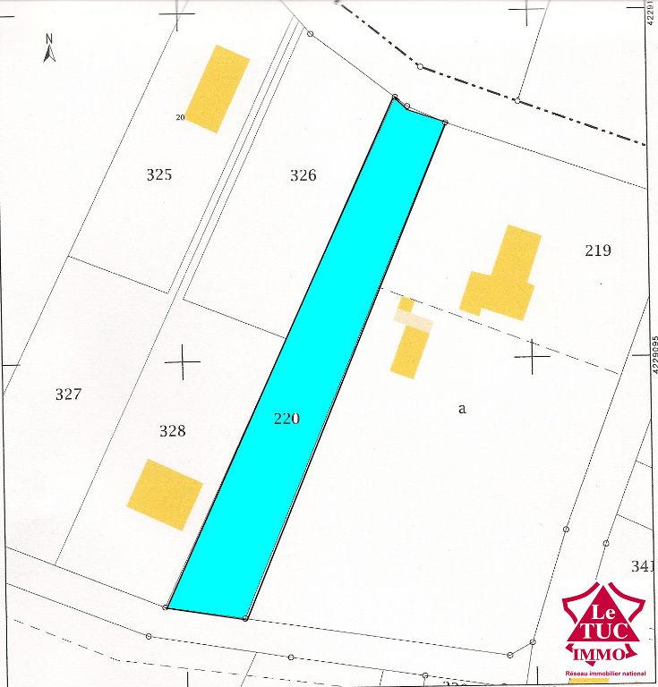 REIGNAC  Joli terrain constructible de 1 330 m²