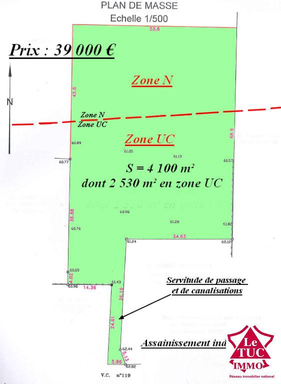 SAINT SAVIN Terrain 4 100 m²