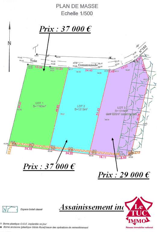 SAINT-SAVIN TERRAIN D'ENVIRON 1 315 M² lot 3