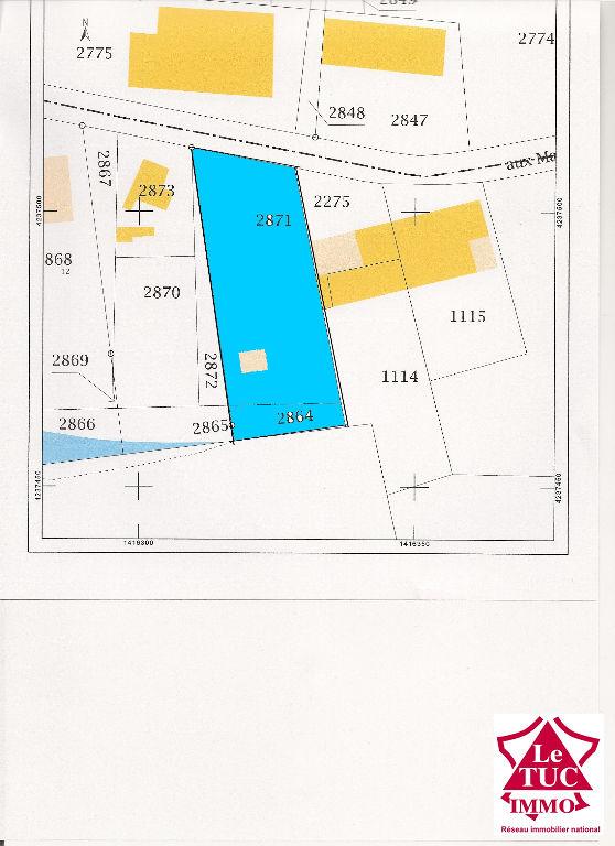 SAINT CIERS SUR GIRONDE Terrain à bâtir de 952 m²