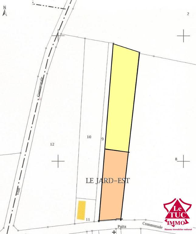REIGNAC Terrain à bâtir de 2671 m2