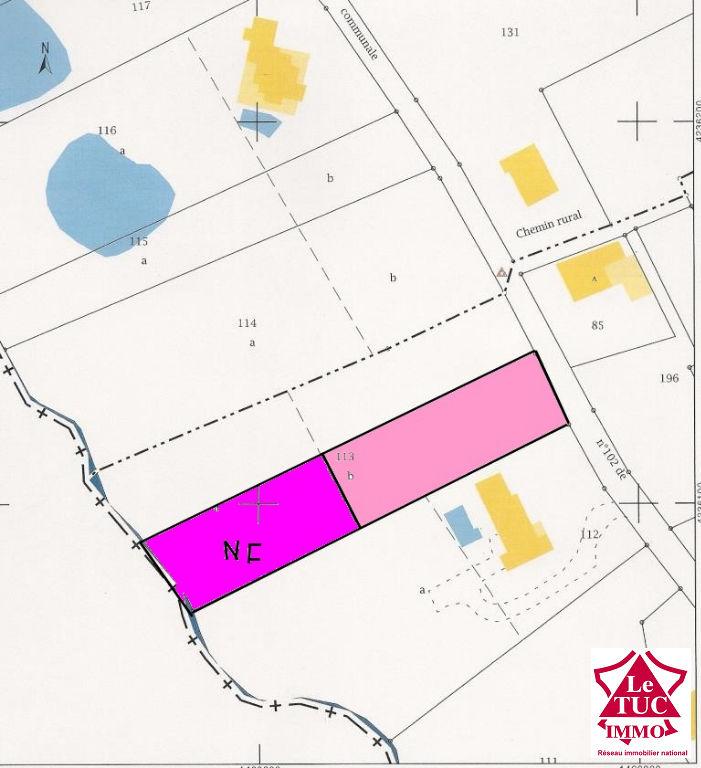 MARCILLAC Terrain  à bâtir de 2 320 m2