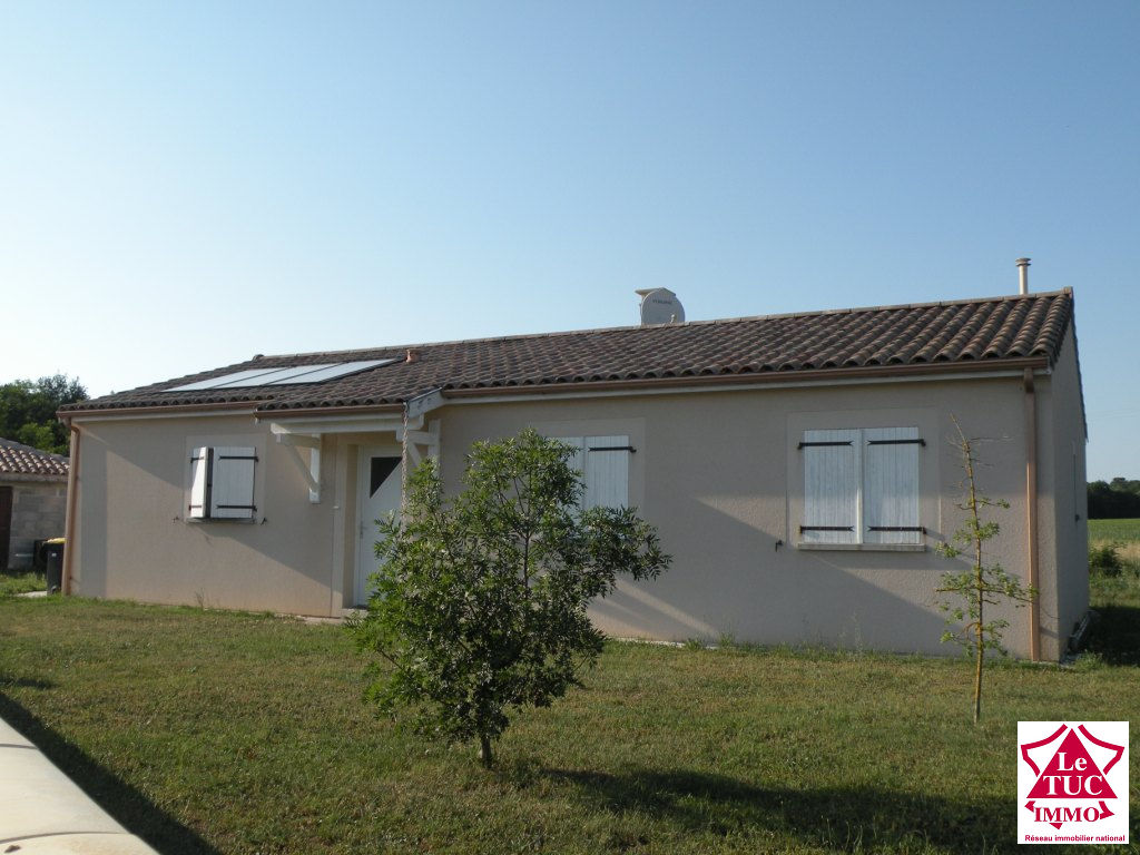 MARCILLAC  Maison plain pied 125 m²  avec garage