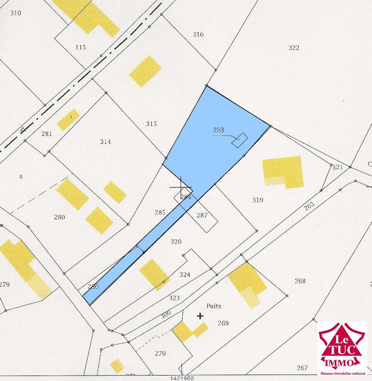REIGNAC Terrain à bâtir de 1 664 m²