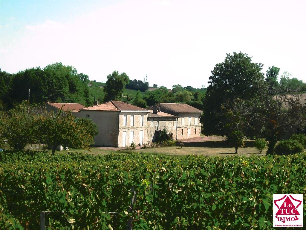 Propriété viticole Cotes de Bourg - Secteur BOURG
