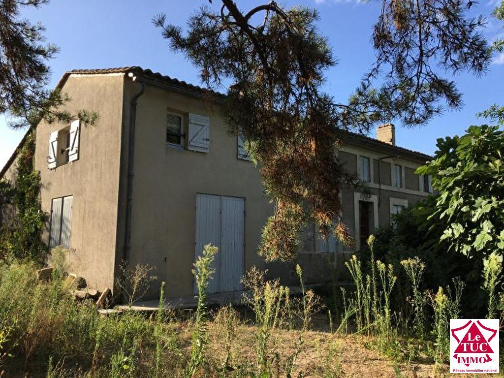 Jolie maison en pierres  sur terrain 707 m² - ST MARIENS