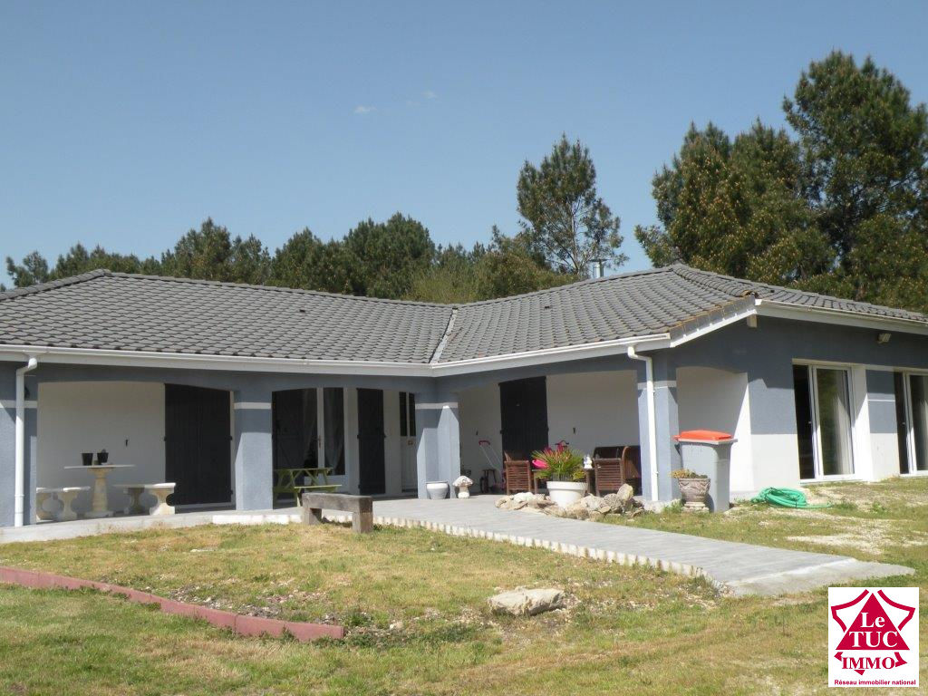 REIGNAC Contemporaine 190 m² avec garage sur 1 879 m²