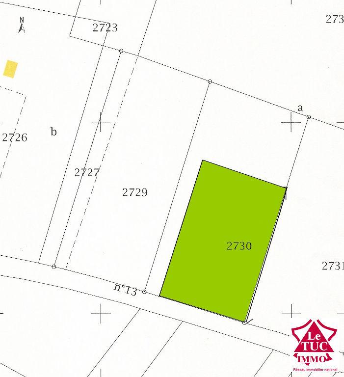 BRAUD ET SAINT LOUIS Terrain à bâtir 950 m²